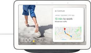 Google Nest Hub with Google Assistant Charcoal GA00515-US ...