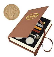 Stamp Seal Sealing Wax Vintage Classic Old ... - Amazon.com