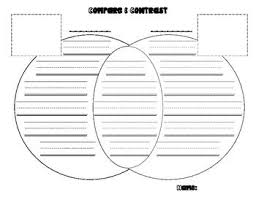 compare and contrast venn diagram template   writing  handwriting    compare and contrast venn diagram template