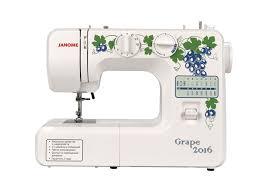 <b>JANOME Grape</b> 2016 Электромеханическая <b>швейная машина</b>