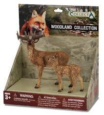 Купить <b>Фигурки Collecta</b> Обитатели леса №1 89272 по низкой ...