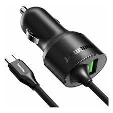 <b>Автомобильное зарядное устройство Tronsmart</b> CCTA 2хUSB, 3A ...