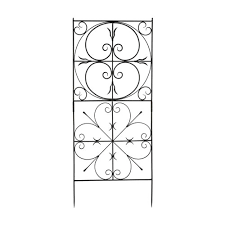 achla designs aldrich wrought iron trellis achla designs wrought iron
