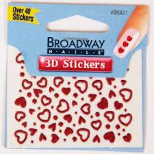 """<b>Kiss</b> Broadway <b>Набор стикеров для</b> ногтей """"Влюбленное сердце ..."""