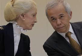 President Naomi Hirose during a press conference at TEPCO headquarters in Tokyo Friday, July 26, 2013. . . . Hirose apologized for the delay and said that ... - 276615b7-fea4-43fa-8a94-35b67dbbdf4cnews.ap.org_r620x349
