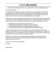 Sensational Case Manager Cover Letter 11 Sample Cv Resume Ideas