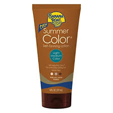 Banana Boat Self Tanning Lotion, Light/Medium ... - Amazon.com