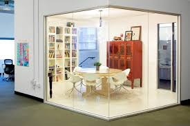 airbnb office interiors cool office design meeting room external red box airbnb cool office design