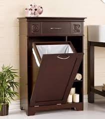 haven white freestanding bathroom cabinet: teakwood  hamper teakwood