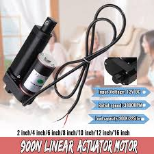 "Linear Actuator <b>Stroke</b> 2""-16"" <b>Inch</b> 225lbs Pound Max Lift DC <b>12V</b> ..."