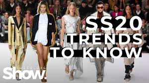 <b>Spring Summer</b> 2020 <b>Fashion Trends</b> To Know | SheerLuxe Show ...