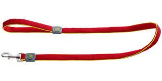 <b>Поводок</b> для собак <b>Hunter Maui</b> сетчатый текстиль красный 20 ...