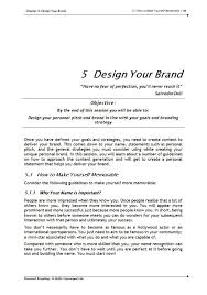 personal branding training course materials skills converged delivering self marketing