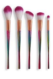 FaceBase Elegant <b>5-Piece</b> Makeup Brush Set - <b>Rainbow</b> | <b>women</b> ...