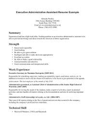 Resume Template. Resume Objective For Administrative Assistant ... Resume Template, Good Resume Objective For Administrative Assistant With Technical Skill Strength: Resume Objective