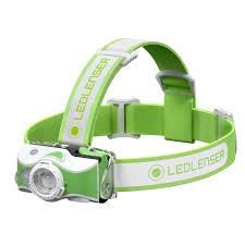 <b>Фонарь светодиодный налобный LED</b> Lenser MH7, зеленый, 600 ...
