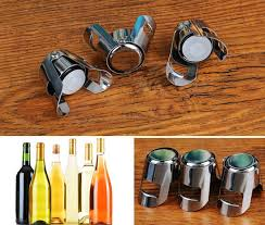 <b>1pc Portable Stainless Latches</b> Champagne Sparkling Wine Bottle ...