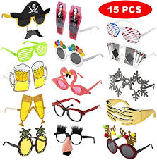 Hawaiian Tropical <b>Sunglasses Glasses Summer</b> Party Fancy Dress ...