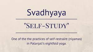 Image result for svadhyaya