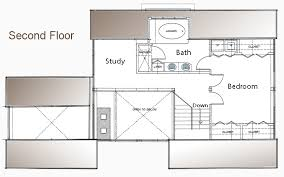 Post and Beam Floor Plan   Bedroom Guest House   Small Home PlanPost and Beam Pool House Second Floor Plan
