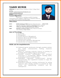 how to write resume for teaching job daily task tracker how to write resume for teaching job career objective and education also area of teaching for marketing and human resource management png