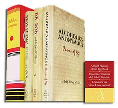 Holiday Gift Set - A.A. History Shelf 4 Volum - Alcoholics Anonymous