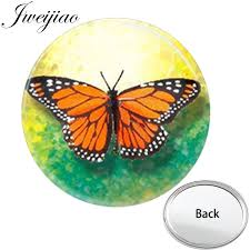 JWEIJIAO бабочка с одной стороны плоское мини Карманное ...