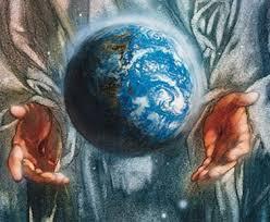 Resultado de imagen de la tierra cohesionada al universo