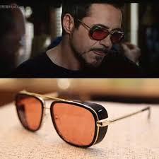 Tony Stark Sunglasses Women Sun Glasses <b>Retro 1PC Vintage</b> ...