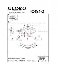 <b>Светильник</b> потолочный <b>Globo Maverick 40491-3</b> купить в ...