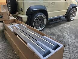 Автоматические <b>боковые подножки пороги</b> CHN для Suzuki Jimny ...