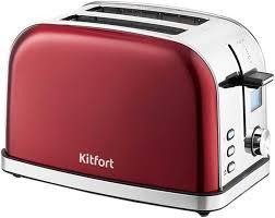Купить <b>Тостер KITFORT</b> КТ-<b>2036</b>-<b>1</b>, красный в интернет-магазине ...