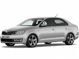 Купить Skoda Rapid <b>Style</b> 1.6L/110 6AT 5D Белый Pure с черной ...