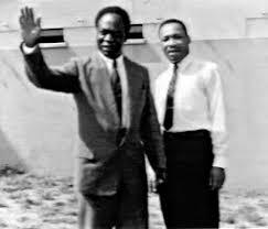 Ghana Nkruma King Meeting