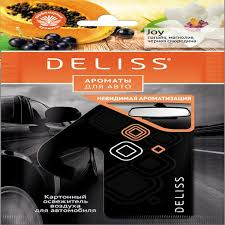 Каталог <b>Ароматизатор</b> Deliss картонный, серия Comfort от ...