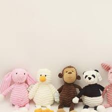 Lovely Plush Toy Forest Animal Stripe <b>Elephant</b> Lion <b>Fox</b> Rabbit ...