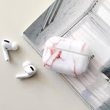 IMD Marble Grain <b>Silicone Earphone Protector</b> Case Cover For ...
