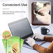 Rich Korean Moisturizing Gloves & <b>Shea</b> Butter <b>Spa</b> Treatment - 3 set
