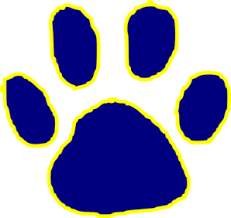 Image result for tiger paw clipart