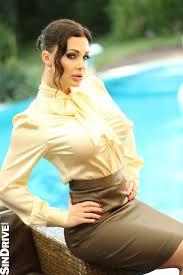 Aletta Ocean SatinBabes satinbluse Pinterest Silk