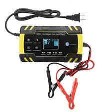 enusic™ 12/<b>24v 8a</b>/<b>4a</b> touch screen pulse repair lcd battery charger ...