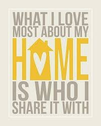 Who I Share My Home With | Quote Picture via Relatably.com