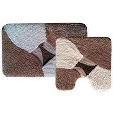 <b>Набор ковриков</b> для ванной «<b>Дебора</b>», 2 шт: 50 х 80 см, 55 х 55 ...