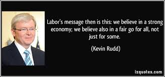 Finest five influential quotes by kevin rudd images English via Relatably.com