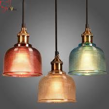 <b>Modern simple</b> glass <b>Pendant Lights</b> 1-3 heads clear/gray/amber ...
