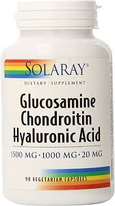 Solaray Glucosamine Chondroitin and Hyaluronic ... - Amazon.com