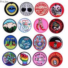 <b>Prajna</b> UFO Alien Space <b>Patch Rock</b> Iron On Embroidered <b>Patches</b> ...