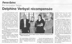 Les actus de l\u0026#39;Enssat: Prix Innovation Tregor - Delphine Verbyst ... - Tregor30avril2009