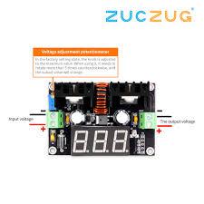 <b>XL4016 LM317 LED Digital</b> Voltmeter Voltage Regulator Meter ...