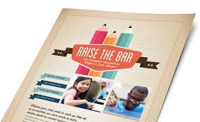 education marketing  brochures flyers newsletters education amp training marketing materials education amp training graphic designs